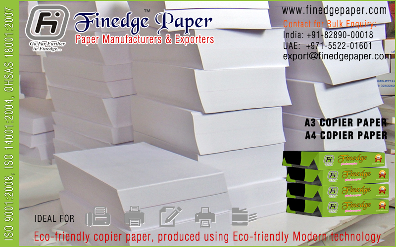 a3 size photocopier paper exporters suppliers manufacturers in india