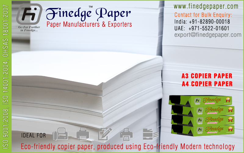 a4 size printer fax papers exporters suppliers manufacturers in india